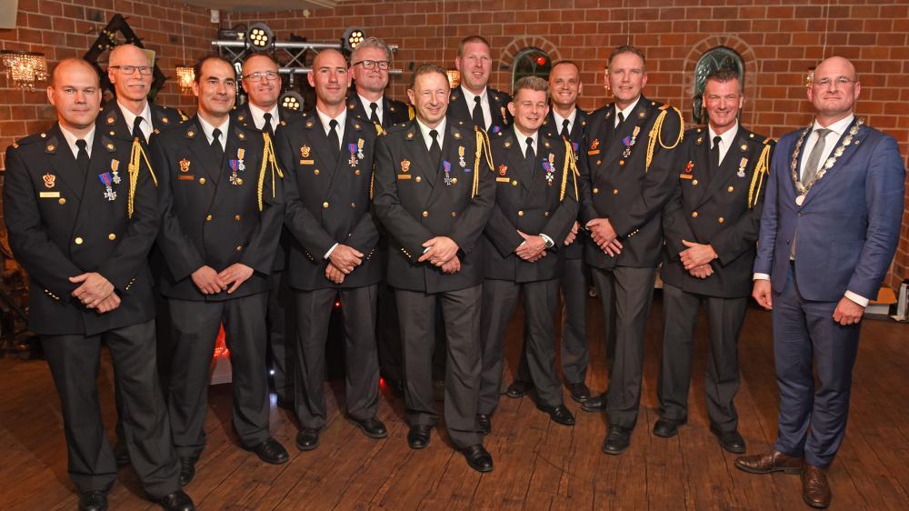 onderscheiden Brandweerlieden
