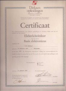 basis opleiding electronica